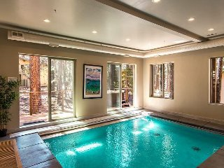 New Luxury 5BR w/ Indoor Pool, Private Hot Tub, & Game Room - Walk to Skiing