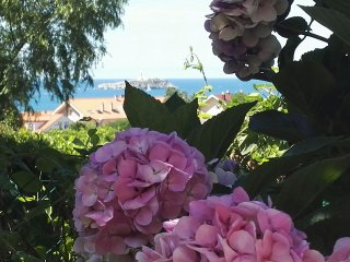 Casa con jardin a 20 mn de Santander y 5 de playa, Somo