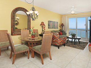 Dining, Family Room and Gulf View Balcony
