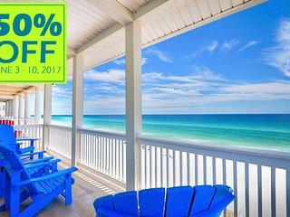 50% OFF JUNE 3-10, 2017 BEACH FRONT W/ ELEVATOR NEAR ENTERTAINMENT & MORE!, Miramar Beach