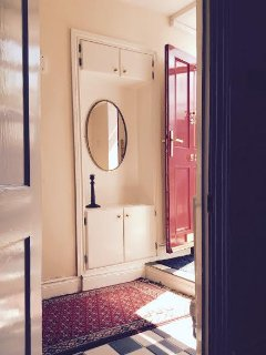 Love our little sunny entrance hall