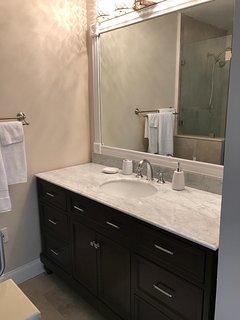 Upstairs bathroom (part of master suite)
