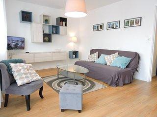 Appartement standing F2 refait a neuf a 10 min des thermes et pres de l'Allier