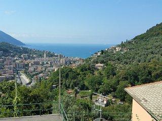 Villa Pia with pool Recco Camogli Cinque Terre apart. B