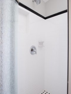 Beautiful new tile shower