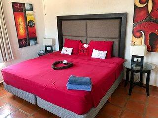 Matrimonial con baño privado exterior, Playa del Carmen