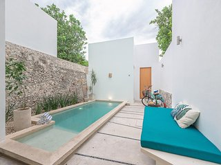 Bright, peaceful home in Santiago, Merida, Yucatan