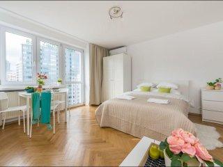 Rondo Onz apartment in Stare Miasto with WiFi, airconditioning & lift., Varsovia
