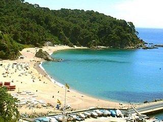 vakantiehuis aan het strand costa brava/ lloret de mar
