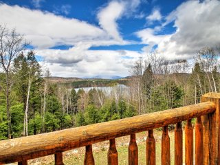 Mountain Home in Greenwood w/Breathtaking Views!