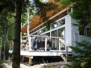 Camp Shulman - elegant new cottage on Long Pond