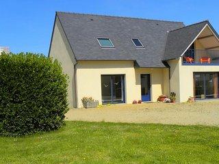 Vue d'ensemble de la Maison avec sa terrasse couverte VUE MER.