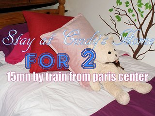 Cindy's home - Beds for two, 15mn away from Paris