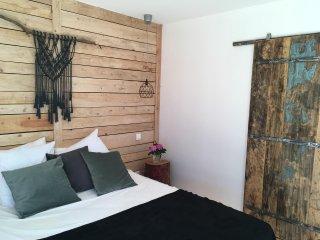 Chambre double avec salle de bain privative, Cleppe