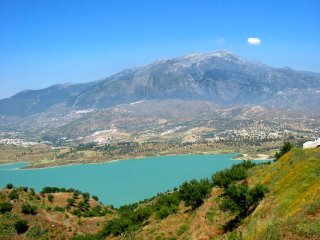 Outstanding Panoramic Views of Lake Viñuela, 4 Bed Villa With Private Pool, Los Romanes