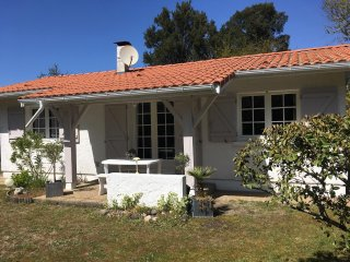 House with 3 bedrooms in Seignosse, with furnished garden and WiFi, Soustons
