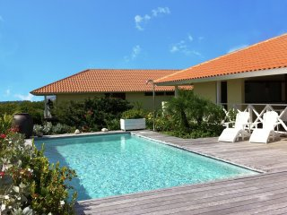 Villa Indigo - Boca Gentil - Comfortable villa with private swimming pool on the beach nearby Willemstad on Curacao