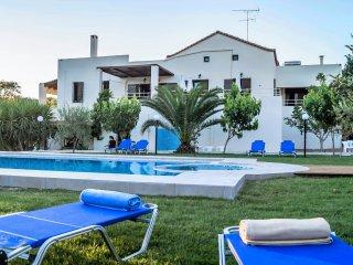 Nostos Home - Nostos Home, big villa, 10 pers., 4 acres land, very private