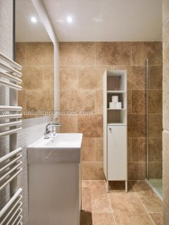 Shared shower room, downstairs.