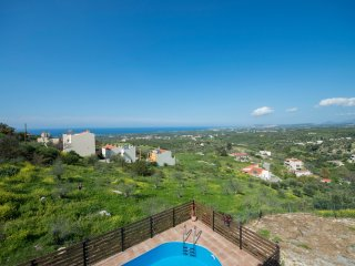 Vacation Villa Giannis with Private Pool and Panoramic Views