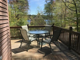 2 Minute Walk to the Beach, Pond Views from Deck! Best Eidelweiss Rental, Madison
