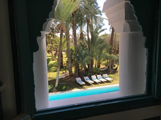 Luxury palmeraie Riad with pool-Shehrazade guestroom