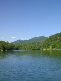 Rent a pontoon boat and relax on Hiwassee Lake