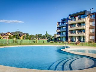 Dog-friendly apartment w/ a shared pool, kids' playground, near town!