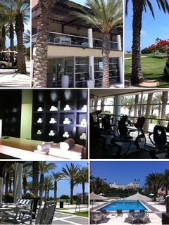 Property is on a golf course with a clubhouse, fitness facility, tennis courts and swimming pools.