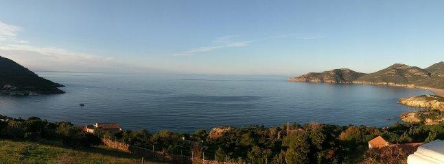 Villa stunning views of the Gulf of Galeria