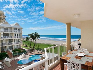 Crystal Beach Unit 27 -  3 bedroom absolute beachfront in Tugun