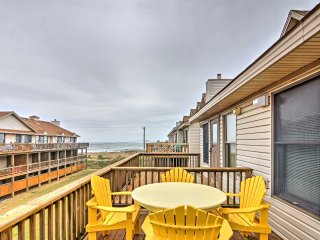 New! Cozy 3BR Kitty Hawk Townhome-Walk to Beach!