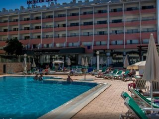PORTUGAL, Albufeira, Studio Aparthotel 4 etoiles a 1,2km de la plage de OURA,