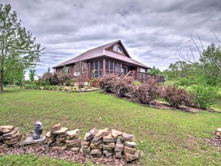 Lovely Osceola House w/ Deck on 80 Organic Acres!