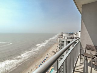 New! 2BR Oceanfront Myrtle Beach Penthouse Condo!