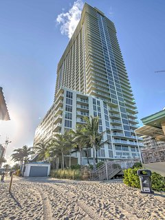 You're sure to have an unforgettable stay when you visit this Sunny Isles Beach vacation rental penthouse!