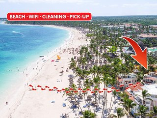 ★★★★★ Beach Villa Bellavista 3bdr WiFi Cleaning