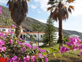 Awesome Villa in Los Gigantes with Palm Garden Overlooking Atlantic Ocean