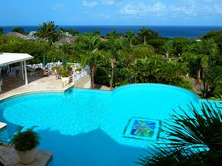 Sugar Hill's infinity pool - one of the two fabulous communal pools available to guests