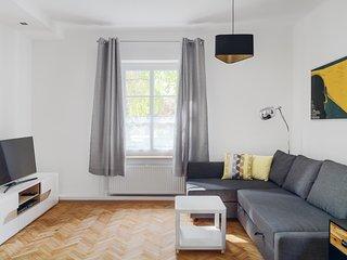 Living room - sofa and TV corner