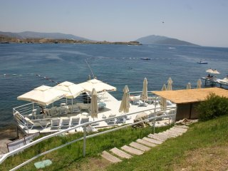 Bodrum Gumbet  Sea View Apartment With Swimming Pool # 469