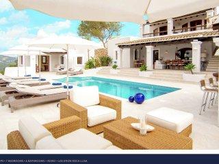 Villa Destino 3 Roca Llisa - Luxury 14 people villa in Ibiza with pool and spa, near Ibiza town.