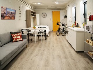 The Green Urban Loft - ecofriendly 5 star downtown apartment - Wifi + Free Bikes, Madrid