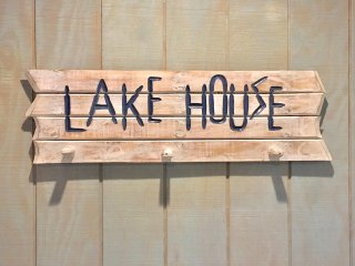 Welcome to our Lake House. We hope you enjoy it as much as we do and keep on coming back!