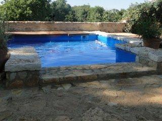 Ferienhaus mit Pool Porec Decovici für 4 Personen
