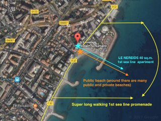 Exact 1st sea line location, 5 min from menton, 10-15 min direct drive to Monaco or direct train