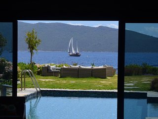 Bodrum Center Luxery Sea View Villa At The Beach # 556