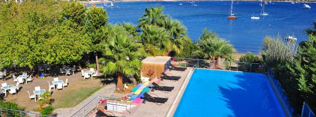 Bodrum Bitez Sea View Apartment With Swimming Pool At The Beach # 533