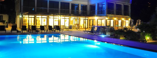 Bodrum Bitez Sea View Apartment With Swimming Pool At The Beach # 531