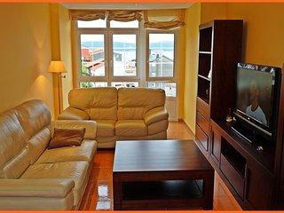Apartamento nuevo en el centro, Playas y puerto muy cerca., Finisterre